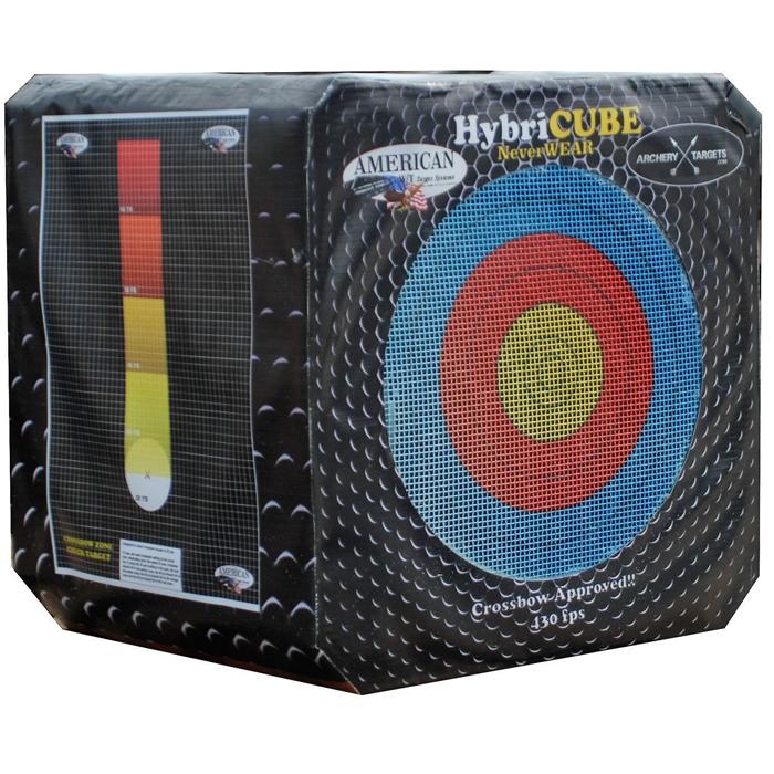 18 Fläche Zielscheibe Yate Targets Bogenziel Bogenwürfel Zielwürfel 36cm x 36cm
