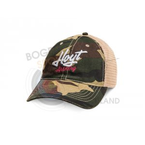 Hoyt Cap Ladies Camo Trucker