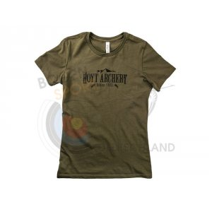 Hoyt Ladies T-Shirt Olive Crest S/S