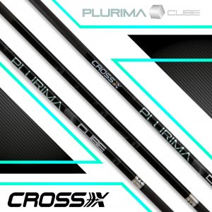 Cross-X Carbonschaft Plurima Cube (12 St.)