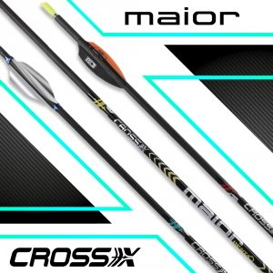 Cross-X Carbonschaft Maior Penta (12 St.)