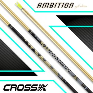 Cross-X Carbonschaft Ambition Gold (12 St.)