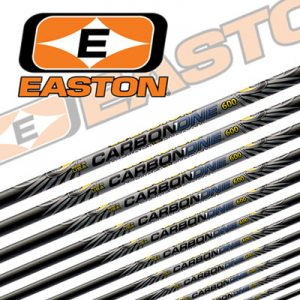 Komplettpfeil Easton Carbon One Naturfedern